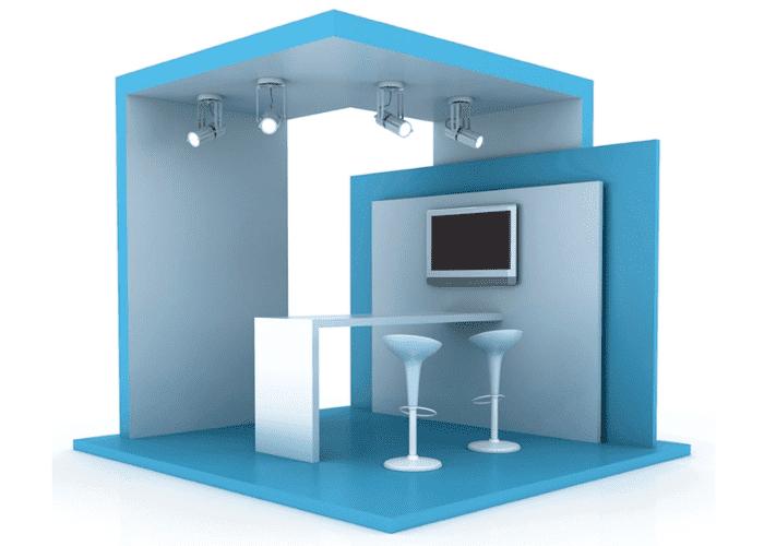 Custom Modular Exhibition Stands : Custom modular exhibition stands