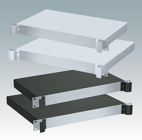 "New 19"" Rack Mount Enclosures With Smooth Top"