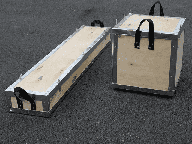 Plywood Riveted Cases