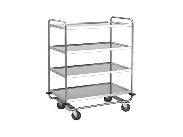 4 Tier Clearing Trolley