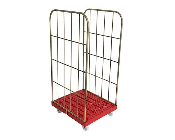 Plastic Base Roll Cage Pallets