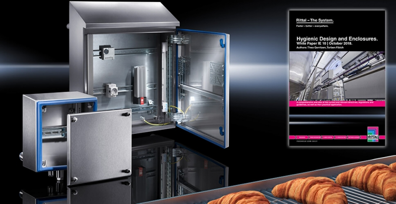 Rittal Publishes Guide to HD Enclosures for Food and Beverage Industry