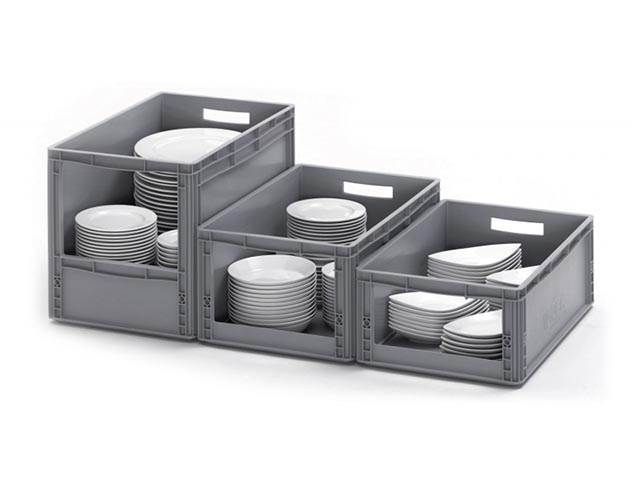 Euro Picking Open Fronted Plastic Containers