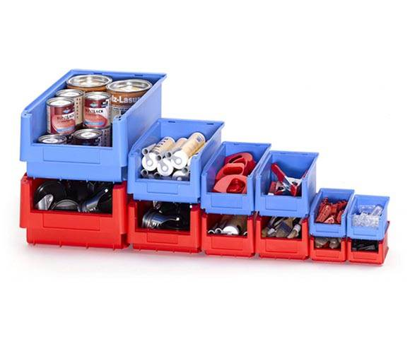 Small Parts Storage Bins for Components