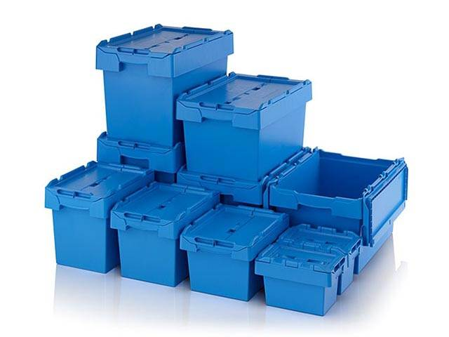 Wide Range of Attached Lid Containers