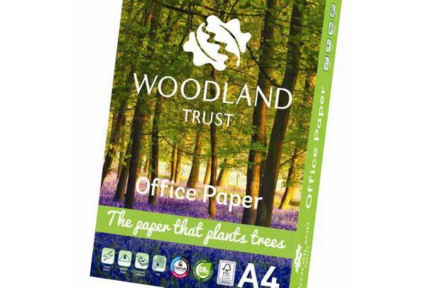 A3 Woodland Trust Office Paper