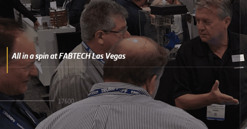 Latest equipment innovations unveiled at FABTECH 2016