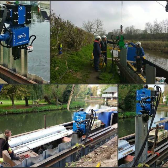 ESF Piling Vibrators Hire and Sales - UK Agents