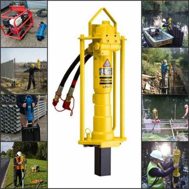The Hammerman Equipment Plastic Piling Company Limited, Plastic Piling