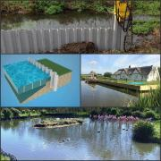 Plastic Sheet Piling for Waterside applications