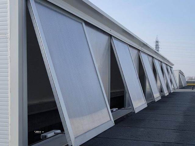 Natural Ventilation Systems for Commercial