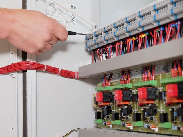 Ventilation Control Panel