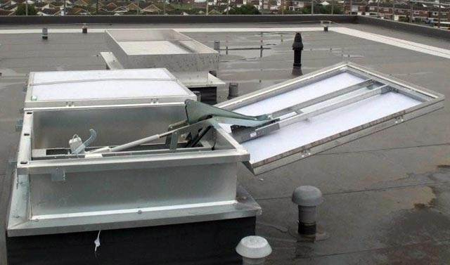 Rocburn Ltd Smoke Ventilation Smoke Ventilation Systems