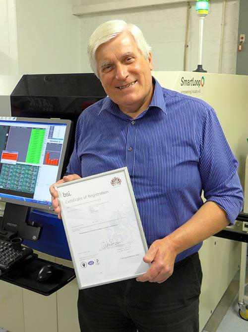 Wilson Process Systems demonstrates commitment to quality with ISO 9001:2015