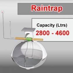 2800 - 4600 litre rainwater harvesting system