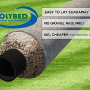 Polybed soakaway pipe