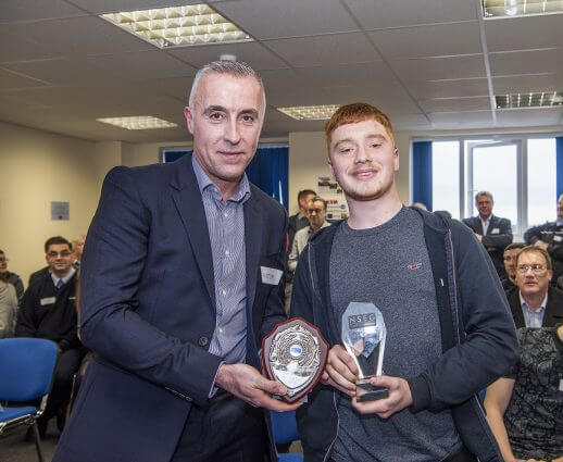 Grenville Apprentice wins Apprentice of the Year