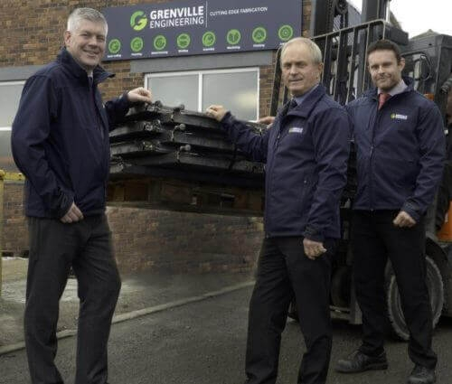 Grenville celebrates biggest win in the company's history