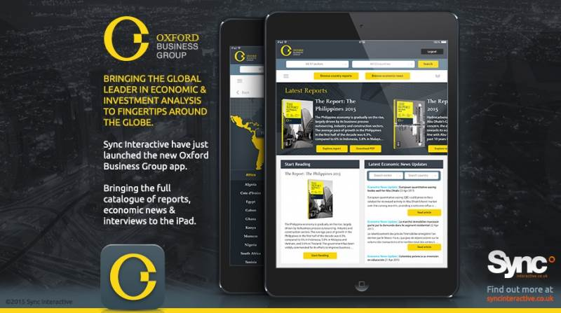 We've just launched the new Oxford Business Group app