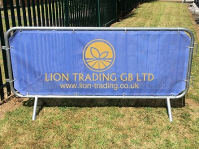 Branded Fence Covers