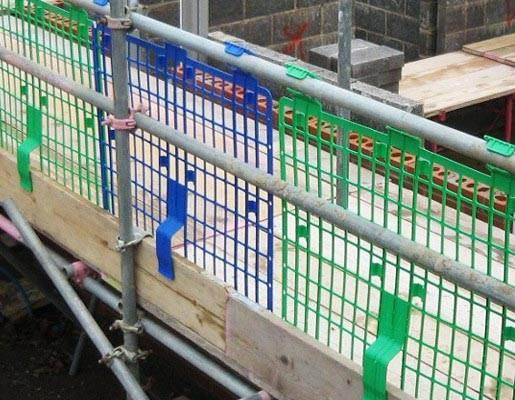 Scaffolding Brick Guards