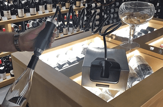 New Wine Preservation System From Wine Corner