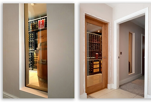 Fully Integrated Wine Rooms