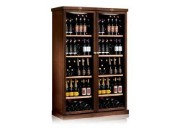 Zone wood panel wine cabinet