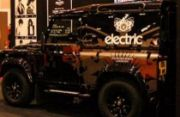 Electric Hairdressing, Partial vehicle wrap