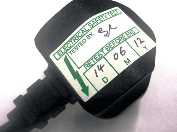 Electrical Test Labels