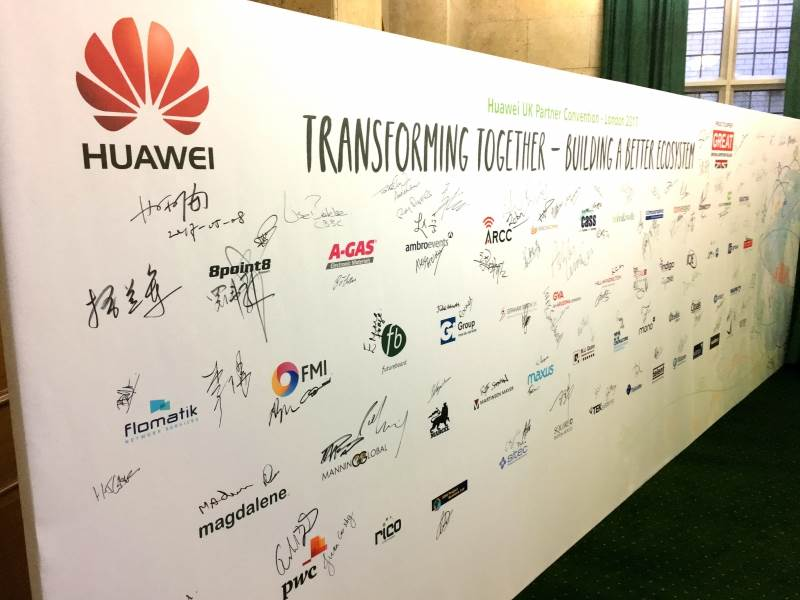 2017 Huawei UK Partner Convention
