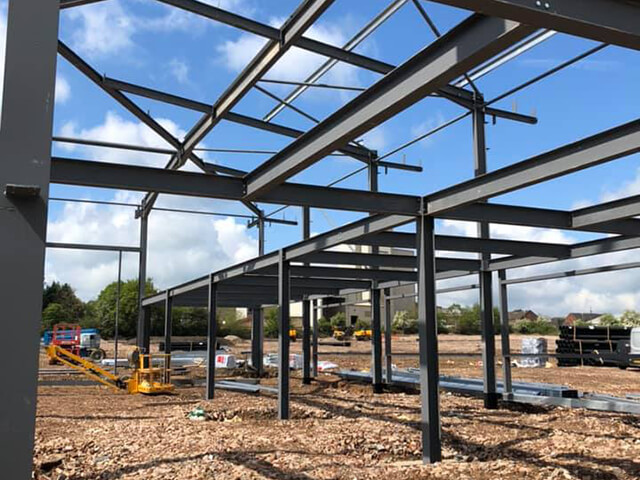 Structural Steel & Cladding