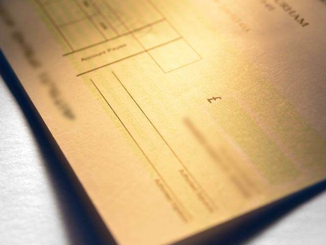 Secure Cheque Printing