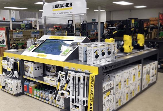 Kärcher Homebase Shop In Shop