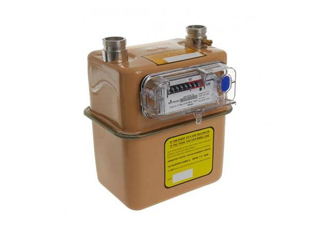 4 Gas Meter : Gas meter g