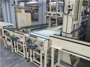 TABLE WARES POWERED ROLLER CONVEYOR SYSTEM