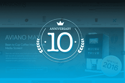 Celebrating our 10th anniversary with a Brand New Website