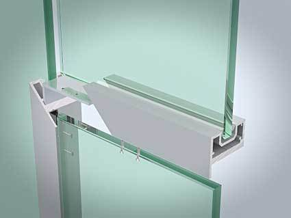 Single glazed door frame kit