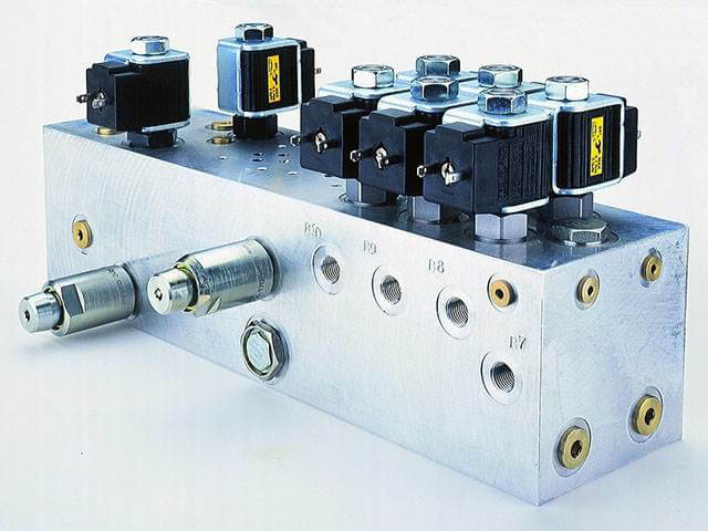 Proportional Hydraulic Control Valves