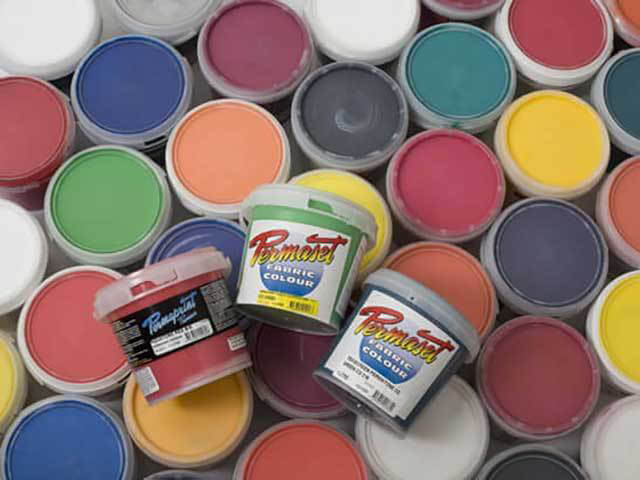 Permaset Waterbased Textile and Graphics Inks