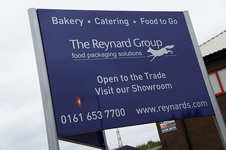 External Aluminium Signs