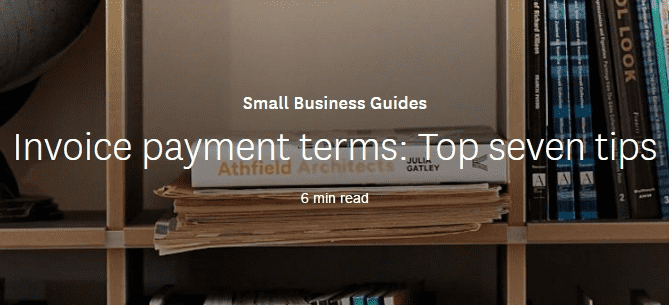 Invoice payment terms: Top seven tips