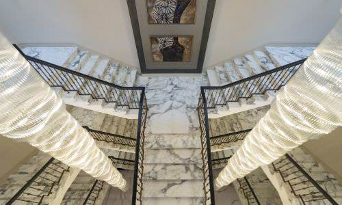 Stunning Calacatta Staircase for Millgate