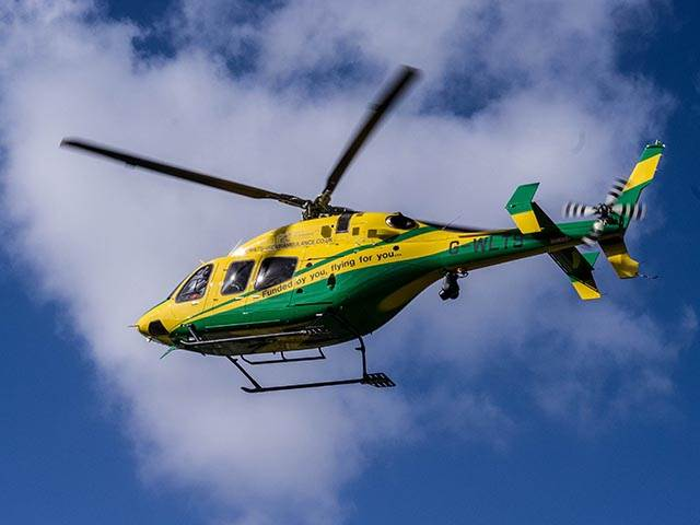 Proud supporters of the wiltshire air ambulance