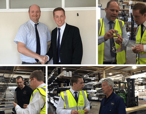 The Home of Extrusion played host to local MP Tom Pursglove on Friday