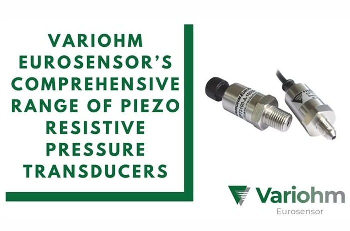 Variohm's comprehensive range of piezo resistive pressure transducers