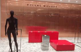Roland Mouret - Shop Installation