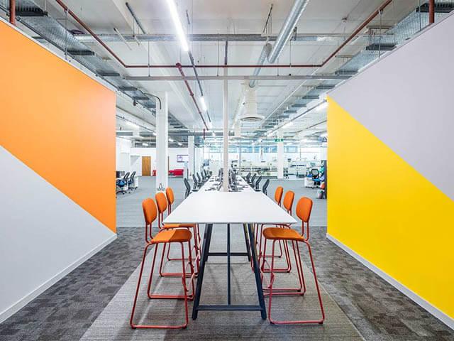Colourful Office Ideas