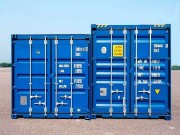 Shipping container, HC & DV