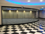Glass Showroom Partitions
